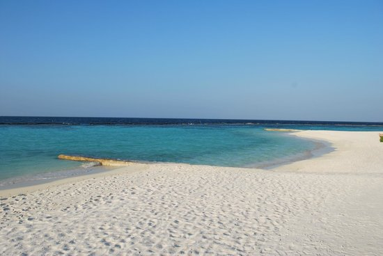 Baros Maldives:                   Your beach