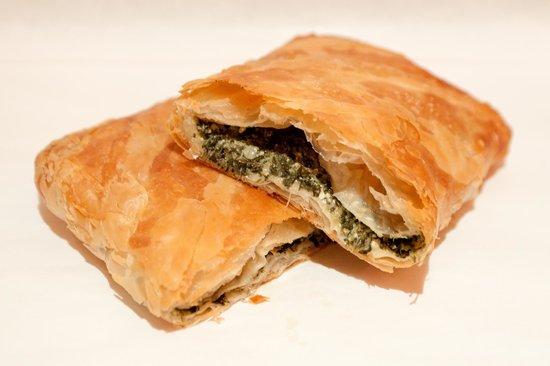Pop Pie: Spinach & Feta Cheese Pie (Μπουγατσα Σπανακι Τυρι)