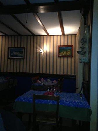 Hotel Restaurant de la Hague : la grande salle...