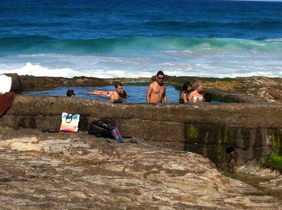 Coolangatta, Australia: natural pool