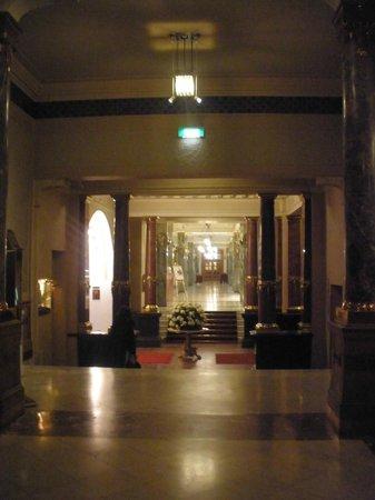 Belmond Grand Hotel Europe:                   Hotel lobby