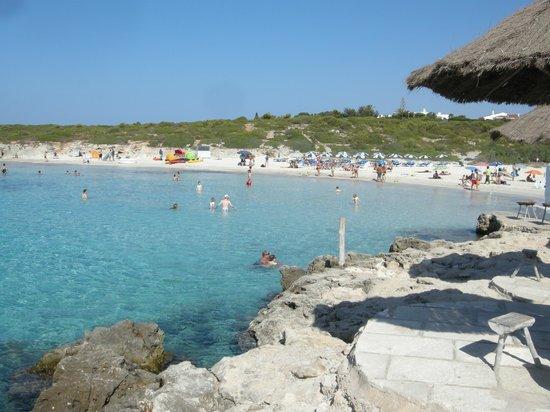 Playa de Binibeca Nou:                   Spiaggia
