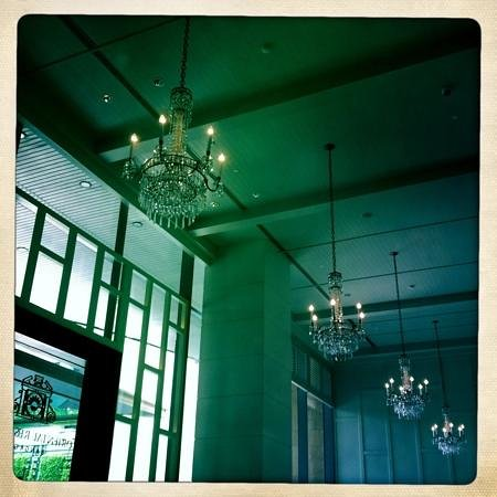 Oriental Residence Bangkok:                   cozy lobby