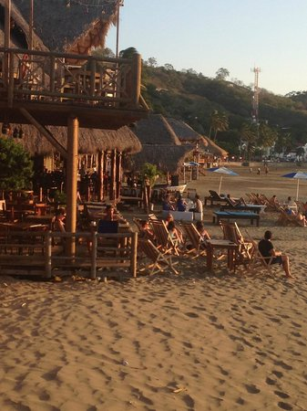 Surf Ranch Hotel & Resort:                   san juan del sur beach bar