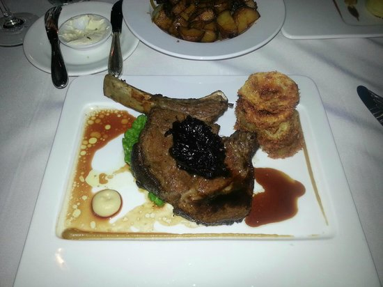 Ports O' Call:                   Aged grain fed Prime Rib of Beef with Roast chat potatoes