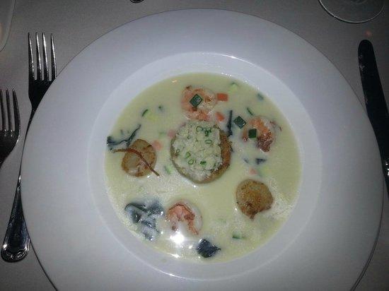 Ports O' Call:                   Seafood Chowder