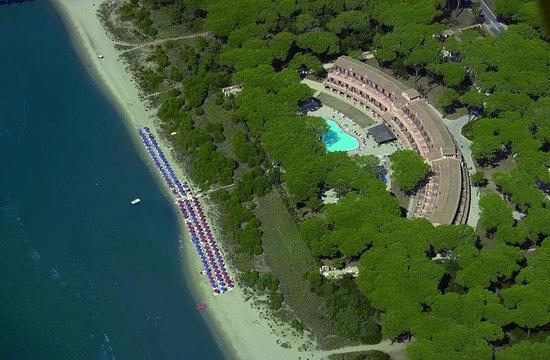 Scarlino, Italia: Vista Aerea Hotel