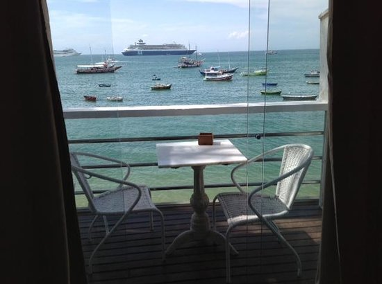 Nomad Buzios Seashore Hostel:                   Vista da varanda                 