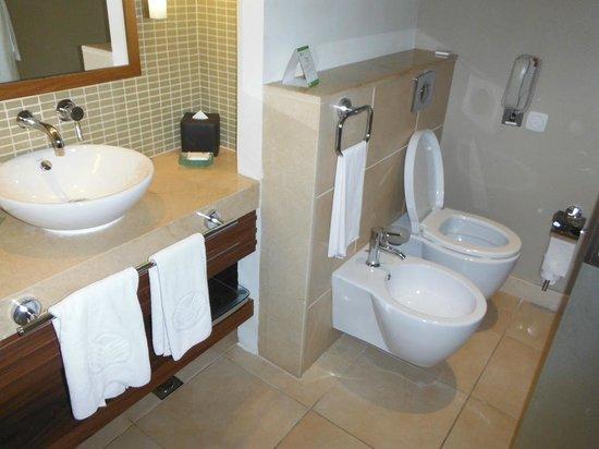 Park Rotana Abu Dhabi:                                     Compact Bathroom