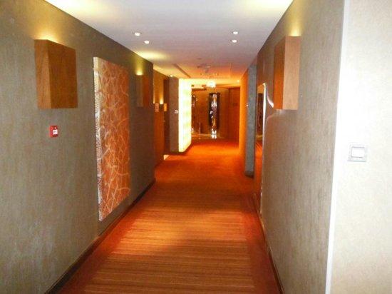 Park Rotana Abu Dhabi:                                     Hallway