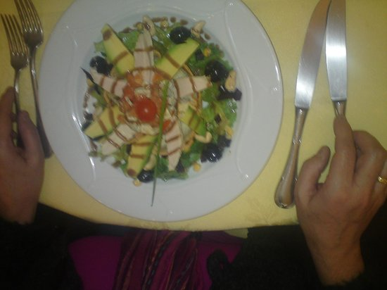 Le Foch :                                     Salad.