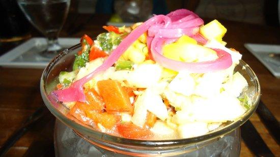Soenchi's Aruban Cuisine :                   entrada