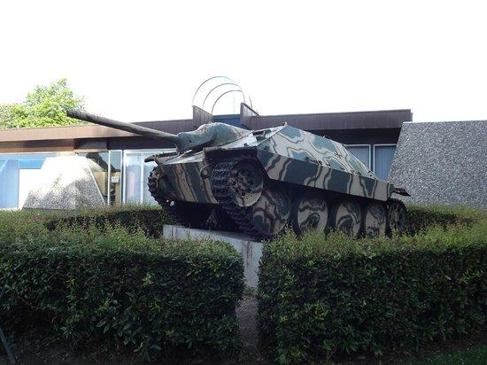 Musée Mémorial de la Bataille de Normandie : tigre