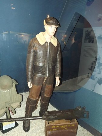 Musée Mémorial de la Bataille de Normandie : pilote