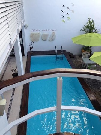 Hotel Casa Ticul:                                                                         the local pool