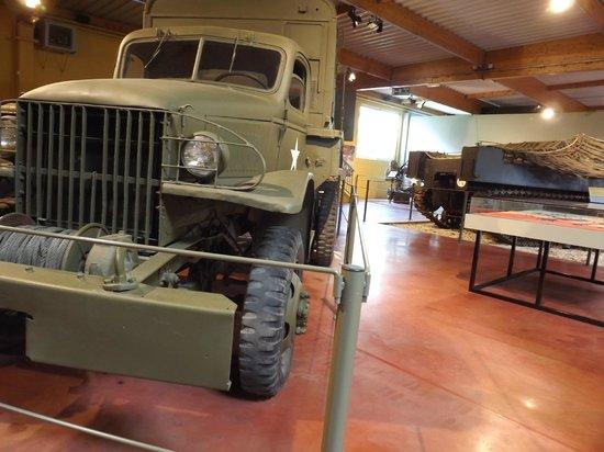 Musée Mémorial de la Bataille de Normandie : camion