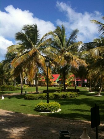 Tropical Princess Beach Resort & Spa:                   parc de l'hotel