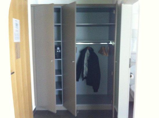 Hotel Allegra:                                     Little corridor with the wardrobe