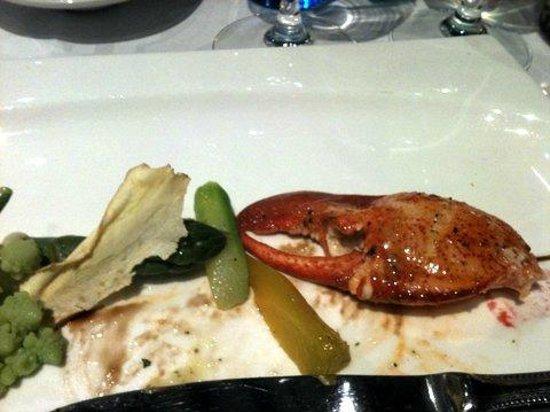 L'Espieglerie :                   Gourmandise de homard