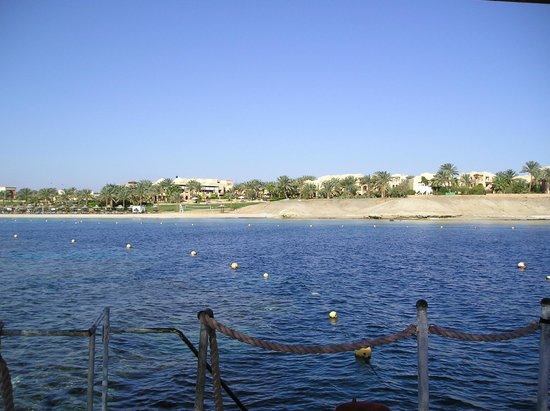 Steigenberger Coraya Beach:                   View from the pier