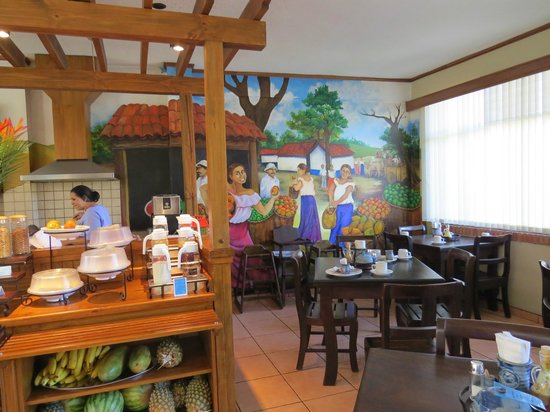Apartotel La Sabana:                                     Breakfast Room