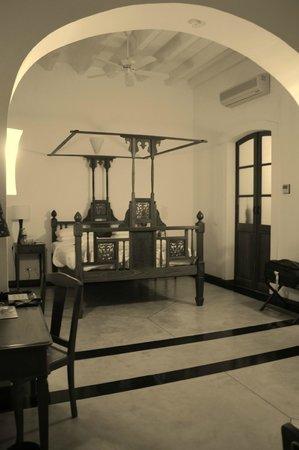 Palais de Mahe:                   Bedroom