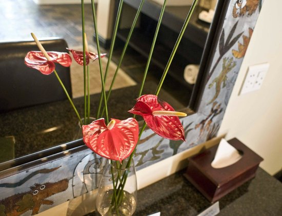 Woodall Country House and Spa:                   nice touches in our suite