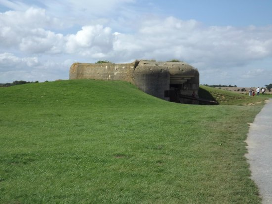 Longues Battery: casemate