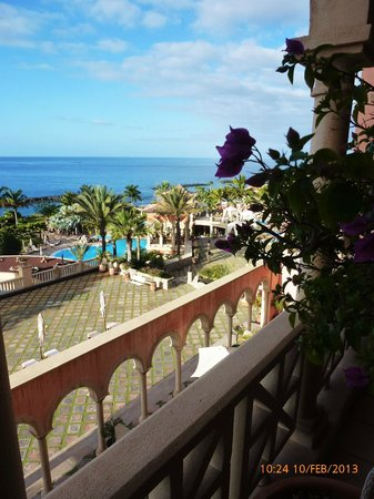 IBEROSTAR Grand Hotel El Mirador :                   View from 4th floor balcony