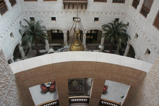 Movenpick Resort Petra:                   view of lobby