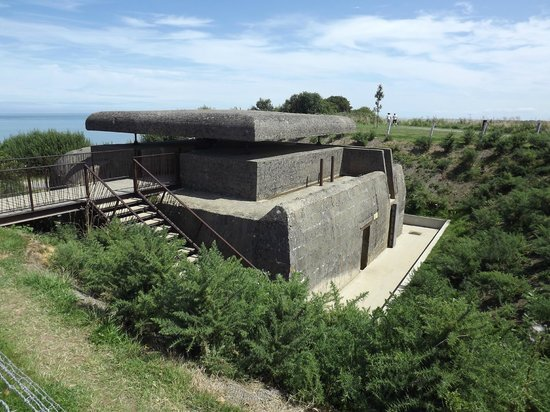 Longues Battery: poste de direction tir