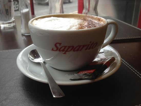 Saparito:                                                       Coffee as it should be