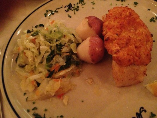 Solar do Minho: The Chilean sea bass with stuffed crab meat