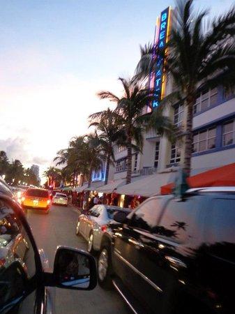 Starlite Hotel:                   ocean drive