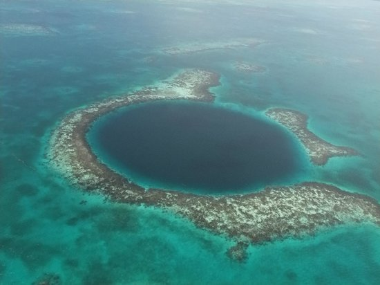Grande Buraco Azul, Lighthouse Reef: wonderful Blue Hole