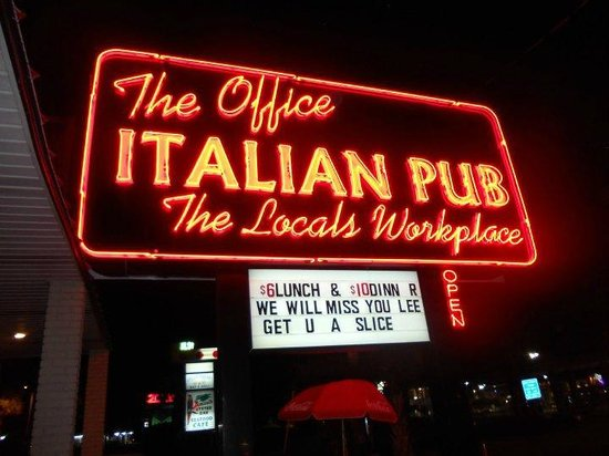 The Office Italian Pub: Private parties on request