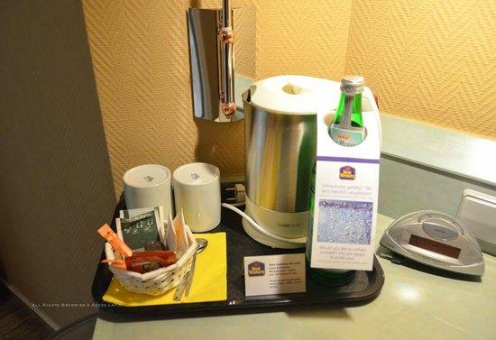 Hotel Ambiente Langenhagen Hannover by Tulip Inn: Tea/Coffee Facilities