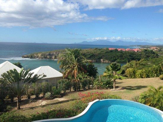 Hotel Amaudo:                   vue de notre chambre