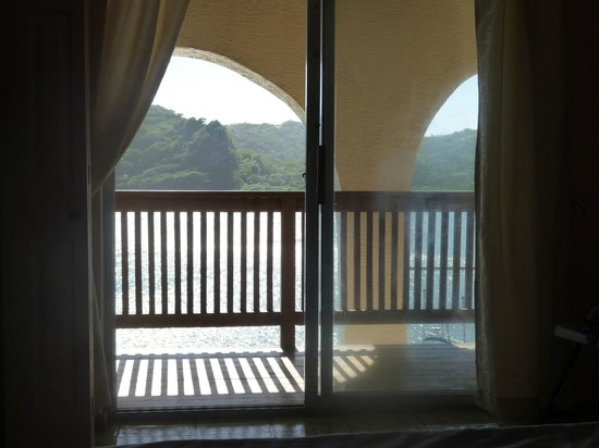 Castaways Cove:                                     view from villa master bedroom