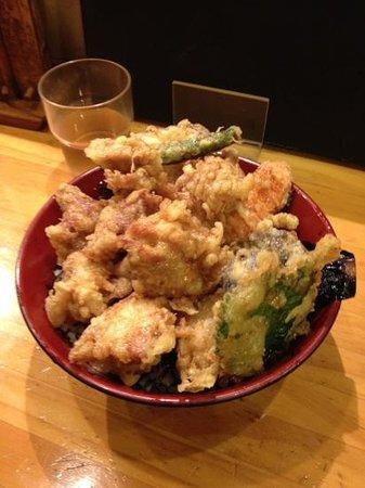 Kansaiudon Baradon Aoi :                   うどん、バラ丼以外も、ガッツリ!