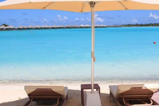 The St. Regis Bora Bora Resort:                   Beach, quiet, serene and glorious!