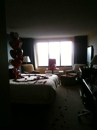 ‪‪Sheraton Bucks County Hotel‬:                   Valentine's Day Decoration