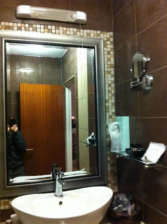 Wessex Hotel:                   shaver mirror and socket