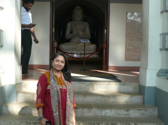 Yoga Jeewaprabha at Lewella Meditation Centre, Kandy, Sri Lanka:                   Golden Temple - Kandy