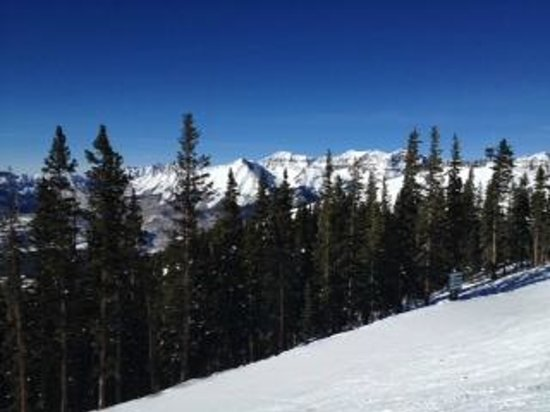 Peaks Resort & Spa:                   On the slopes