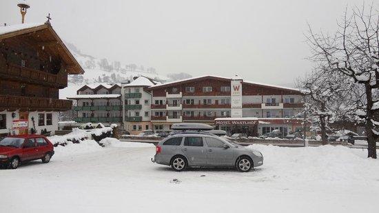 Hotel Wastlhof:                   Top hotel aan de piste