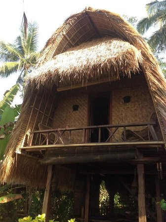 Lumbung Damuh:                   the Balinese Hut we stayed in