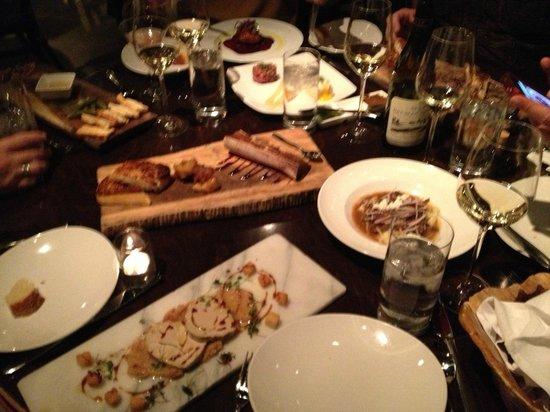 Vin 48:                   Small Plates with amazing wine paring