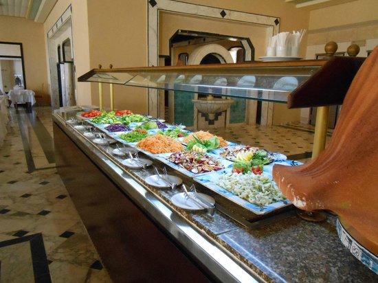 Riu Imperial Marhaba:                   Fine range of salads