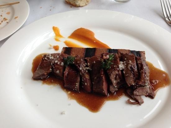 El Restaurante de Baluarte: Jabalí